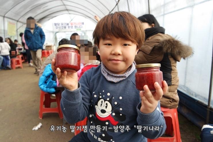 [남양주] 청정지역 딸기나라에서 맛있는 유기농 딸기체험!